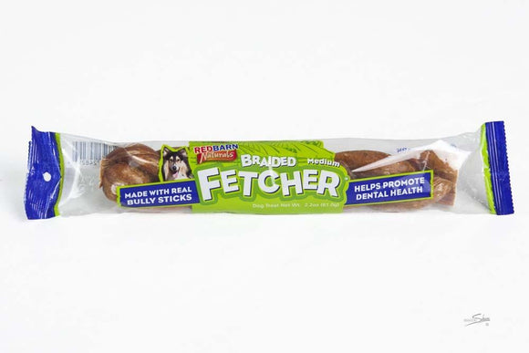 Redbarn Fetcher Braided Medium Individual 1 count