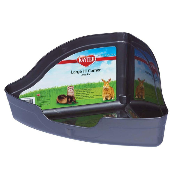 Kaytee Hi-Corner Litter Pan Large