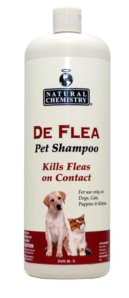 Natural Chemistry Deflea Ready to Use Pet Shampoo 33.8oz