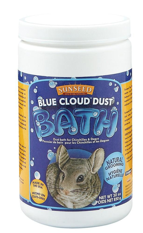 Sunseed Supplement Chinchilla Blue Cloud Dust 30oz