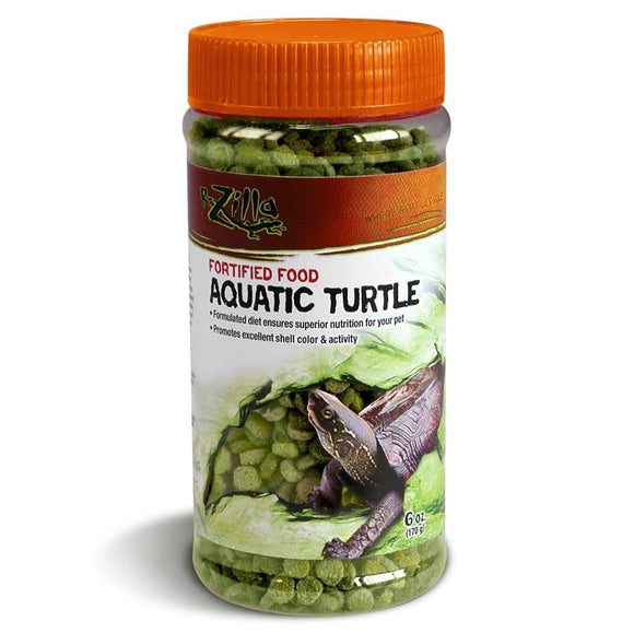 Zilla Fortified Aquatic Turtle Food 6oz