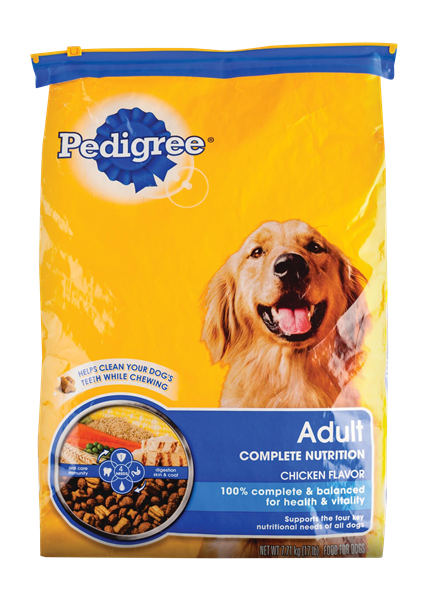 PEDIGREE ADULT DRY DOG FOOD CHICKEN RICE