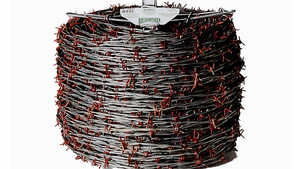 Red Brand 12.5GA RUTHLESS BARBED WIRE 4 POINT 1320 FT