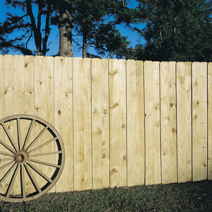"6"" BOARD ON BOARD PANEL, Privacy fence"