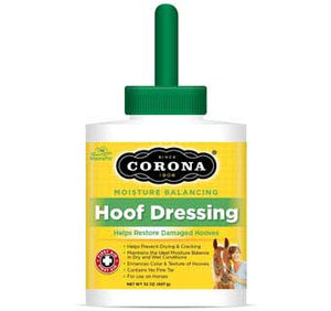 CORONA HORSE HOOF DRESSING WITH LANOLIN 32 OZ
