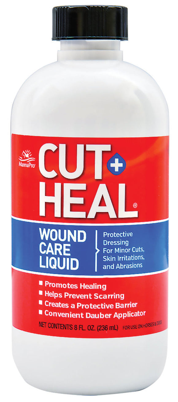 MANNA PRO CUT HEAL WOUND CARE LIQUID 8 OZ