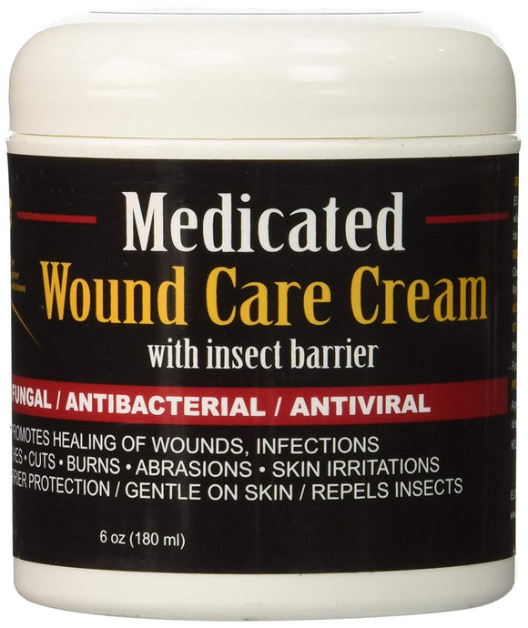 E3 MEDICATED WOUND CARE CREAM, ANTIBACTERIAL, ANTIVIRAL