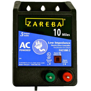 Zareba 10 Mile AC Low Impedance Fence Charger
