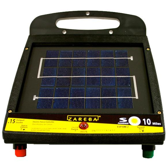 Zareba 10 Mile Solar Low ImpedanceFence Charger