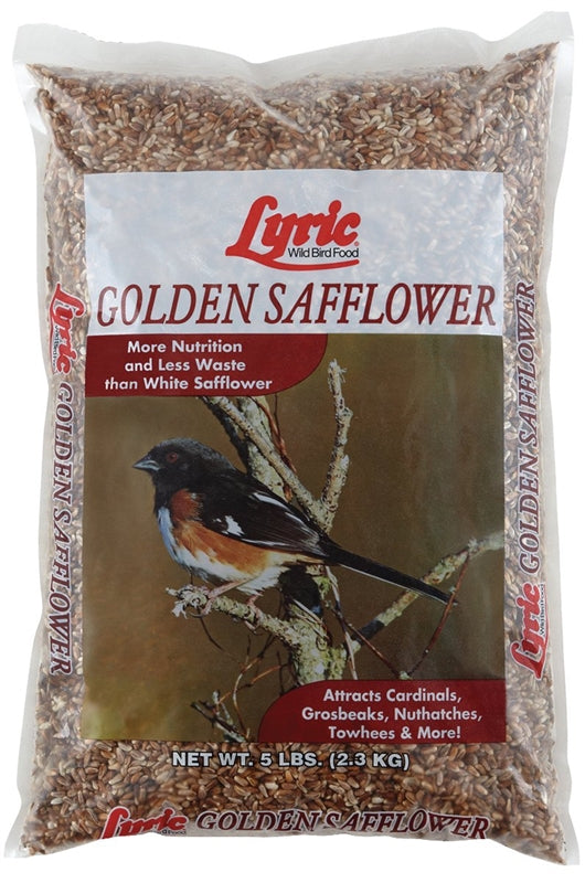 LYRIC GOLDEN SAFFLOWER BIRD FEED 5 LB