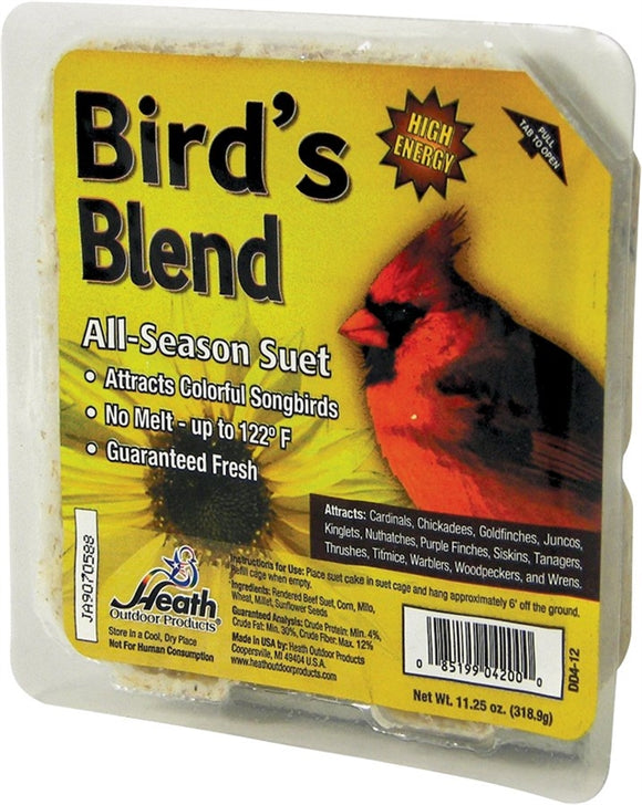 Heath Outdoor DD4-12 All Season Bird Blend 11.25 oz