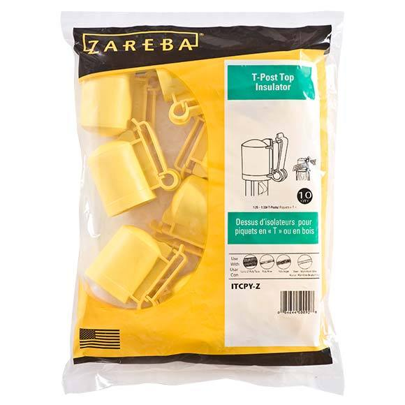 Zareba T-Post Cap Insulator - Yellow