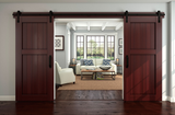 Oil Rubbed Bronze 72 inch Interior Sliding Doors