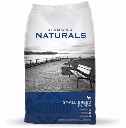 DIAMOND NATURALS DRY DOG FOOD FOR SMALL BREED PUPPY