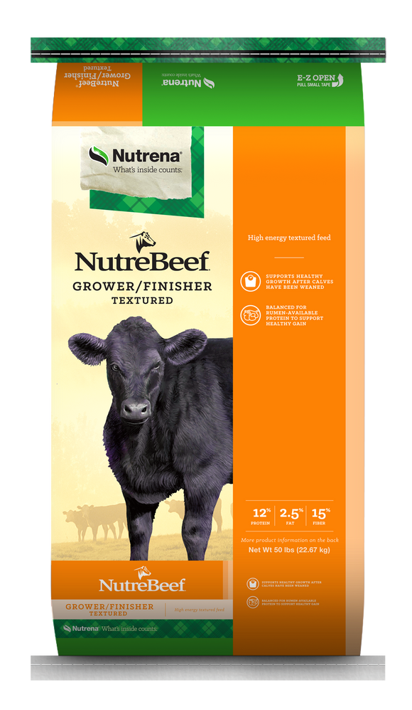 NUTRENA NUTREBEEF GROWER/FINISHER CATTLE FEED