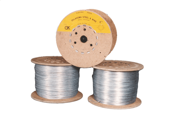 OK Brand Electric Fence Wire 14ga x 1/4 mile