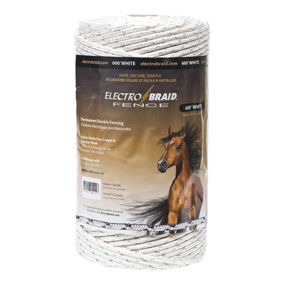 ElectroBraid 1000 Ft Reel - White