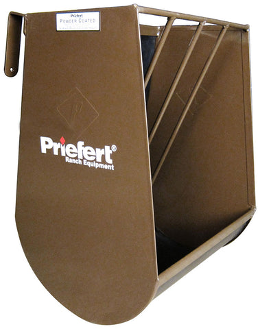 PRIEFERT SINGLE HORSE HAY AND GRAIN FEEDER