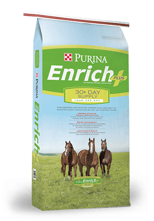 PURINA ENRICH PLUS HORSE FEED