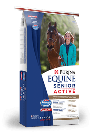 PURINA SENIOR ACTIVE HORSE FEED