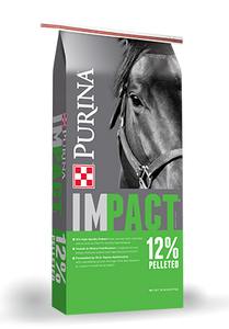 PURINA IMPACT 12:6 HORSE FEED