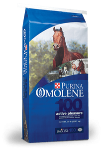 PURINA OMOLENE 100 HORSE FEED