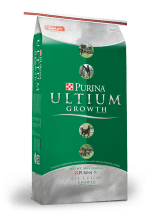 PURINA ULTIUM GROWTH HORSE FEED