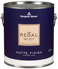 REGAL SELECT INTERIOR MATTE WHITE PAINT