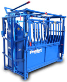 "PRIEFERT ECONOMY CHUTE W/MODEL 91 HEADGATE ""THE RANCHER"""