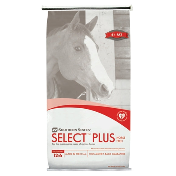 SOUTHERN STATES SELECT PLUS PELLETED HORSE FEED