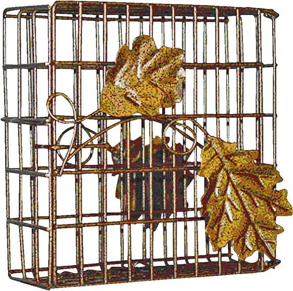 Heath Outdoor Single Leaf Suet Feeder