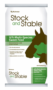 Nutrena Stock and Stable 12% Sweet Multi-Species Feed