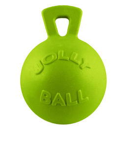 JOLLY BALL TUG-N-TOSS 4.5IN GREEN APPLE DOG TOY