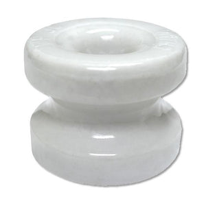 "Zareba Large 1-3/4"" Corner Post Ceramic Insulator"