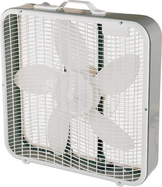 CAMAIR BOX FAN PORTABLE 3-SPEED 20