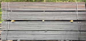 1 x 6 x 16 CREOSOTE FENCE BOARDS, PRESSURE TREATED, FENCING