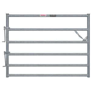 6-RAIL HOT DIP HEAVY DUTY GALVANIZED GATE