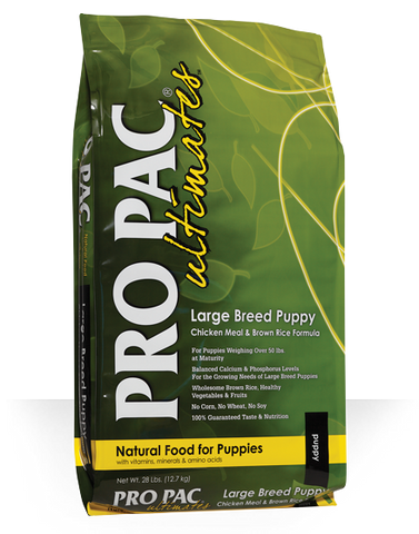 PRO PAC ULTIMATE LARGE BREED PUPPY FOOD