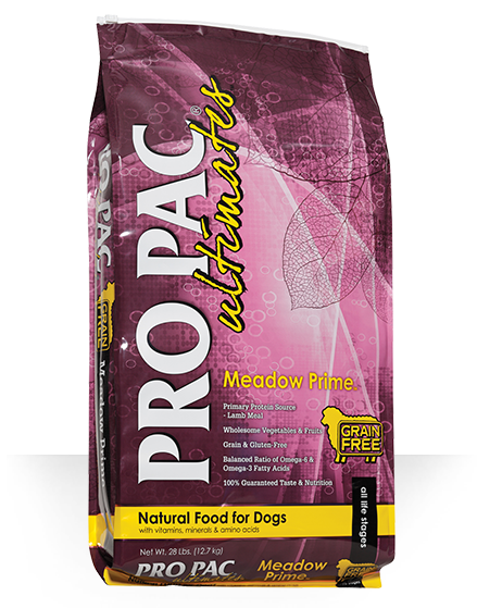 PROPAC ULTIMATE MEADOW PRIME LAMB AND POTATO GRAIN FREE DRY DOG FOOD