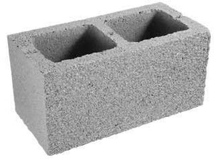 "CONCRETE BLOCK 8""x 8""x 16"""
