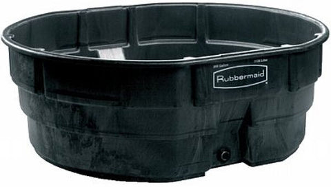 RUBBERMAID STOCK TANK WITH DRAIN