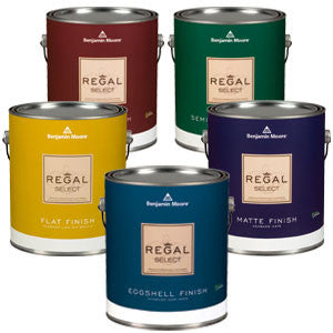 Benjamin Moore Interior Paint Regal Select White Matte Sparr Building And Farm Supply