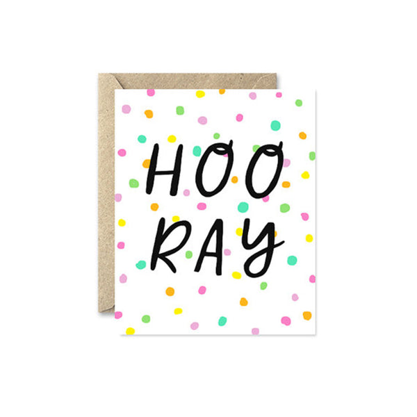 "August and Oak ""Hooray"" Card"