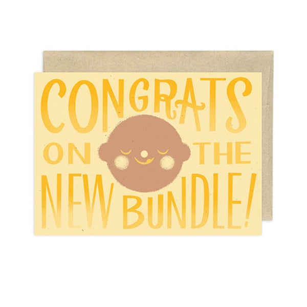 Congrats on the New Bundle Card