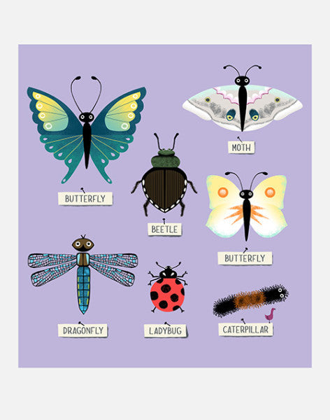 "Alison Oliver ""Insects"" Art Print"