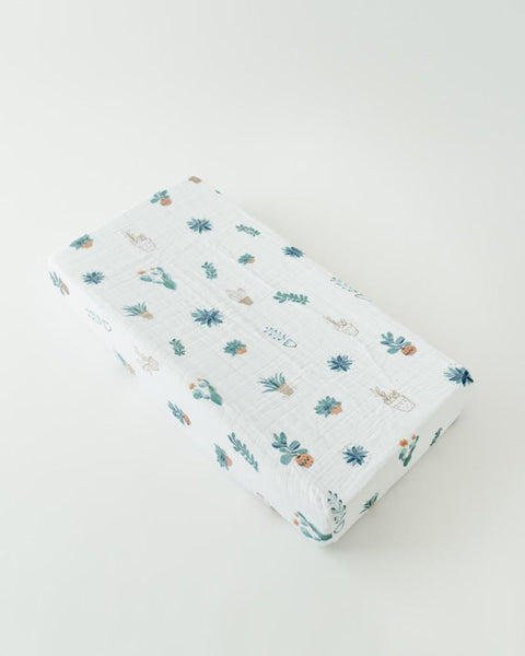 Little Unicorn Changing Pad Cover- Prickle Pots