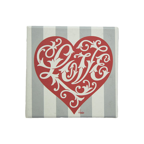 Love Heart Blocks (Red)