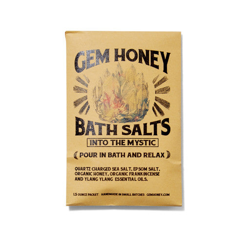 Gem & Honey Infused Bath Salt