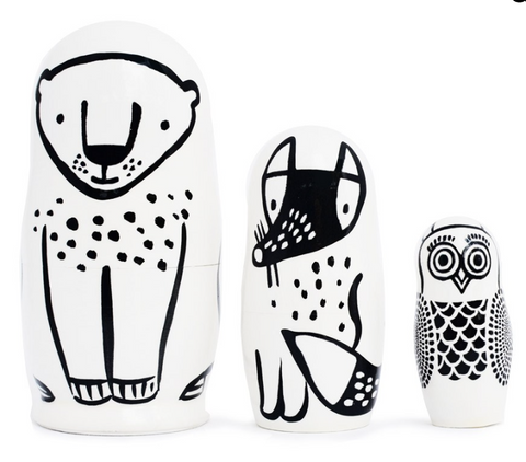 Forrest Friends Nesting Dolls