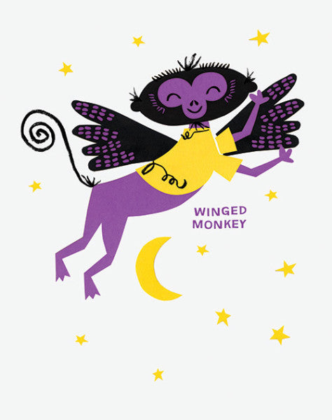"Alison Oliver ""Winged Monkey"" Art Print"